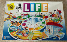THE GAME OF LIFE  2002 FAMILY BOARD GAME  Milton Bradley 100% Complete EUC!
