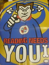 2000/2001 Reading: Fixture Map/Reading Needs You Poster (42 cm x 60 cm) (folded)