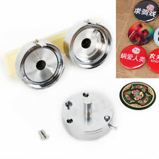 58mm 2.28'' Buttons Maker Badge Machine For Diy Interchangeable Die Moulds Us
