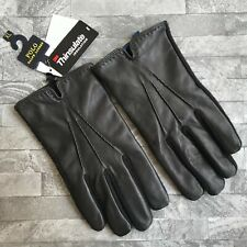 POLO RALPH LAUREN BLACK THINSULATE NAPPA TOUCH GLOVES SIZE XL BNWT