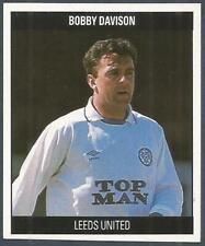 ORBIS 1990 FOOTBALL COLLECTION-#S026-LEEDS UNITED-BOBBY DAVISON