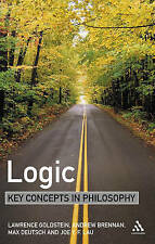Logic: Key Concepts in Philosophy-ExLibrary