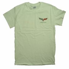 "Chevy Corvette C6 Logo ""BORN IN THE USA"" Graphic Print Short Sleeve T-Shirt"