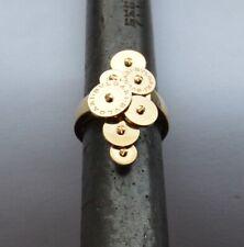 Authentic BVLGARI 18K Yellow Gold  Ring Size 7