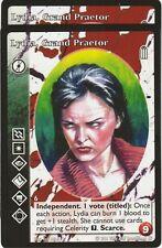 Lydia, Grand Praetor x2 True Brujah Heirs to the Blood Reprint 2 R2 VTES