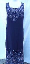 JEANSWEST DRESS SIZE 12 MAXI FANCY STRAPS PLUS BONUS JEANSWEST DRESS SHORT