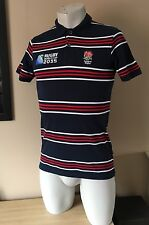 Inghilterra Rugby Coppa del mondo entro il 2015 POLO Licenza Ufficiale Taglia Small
