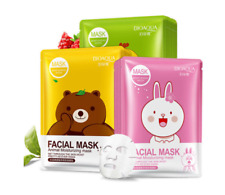 1PC Cartoon Animal Moisturizing Face Facial Mask Fresh Anti-Acne Plant Extract