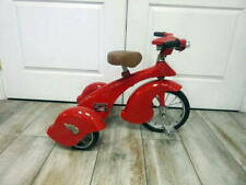 Morgan Cycle Kids Red Retro Tricycle w/light & Adjustable Handle Bars & seat
