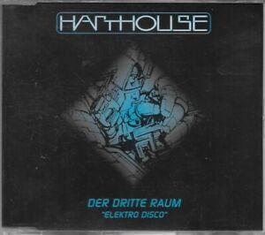 Der Dritte Raum Elektro Disco CD Single Harthouse