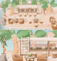 New Horizons - 🌴34 PCs Rattan Style Beach Booth Drinking Bar Furniture Set 🌴