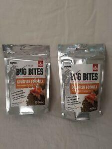 2 Fluval Bug Bites Pellets for Goldfish Food Formula Medium to Large Fish