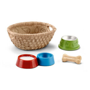 Schleich 42293 Feed For Dogs And Cats (Farm Life Accessories) Plastic Figure