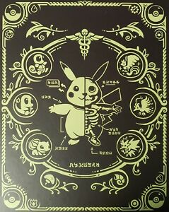Pokenatomy Unofficial Pokemon Anatomy Guide Book Leather Hardcover *preorder*