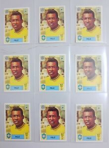 9 Stickers PELE # 38 Mundial 1970 Álbum World Cup Story