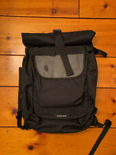 Timbuk2 Rolltop Backpack Black mid-2000s