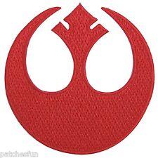 Star Wars Red Rebel Alliance Starbird Iron on Patches Jacket Shirt Cap Bag #1370