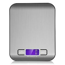 Slim LCD Digital Kitchen Scale10KG/22lb Stainless Steel Weight Food Diet Scales