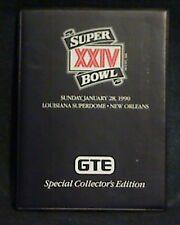 1990 Super Bowl Xxiv Collector ProSet Cards Elway, Montana, Rice Broncos 49ers