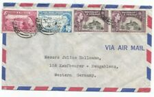 TRINIDAD TOBAGO 1958 airmail cover to Germany