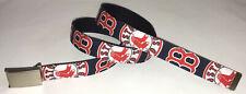 Boston Red Sox Belt & Buckle Baseball Fan Game Gear Team Pro Mlb Apparel Shop Ma