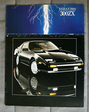 NISSAN 300ZX 1988 brochure sales catalog - French - Canadian Market - 1