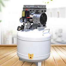 New Listing40l Dental Air Compressor 750w Noiseless Oil Free Air Pump Oilless 165lmin Hot