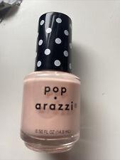 pop-arazzi nail polish Color- Sheer Here! (peachy Nude Color)