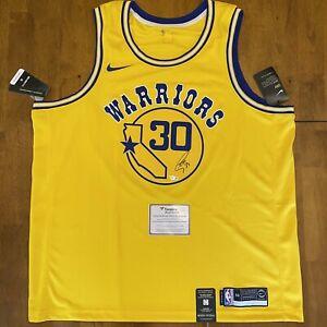 Stephen Steph Curry Signed Autographed Nike Jersey Fanatics COA Warriors