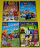 Kid DVD Lot - Bob the Builder Set of 3 (New) Trick or Treat Tales (New) Barney