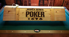 New World Series of Poker Card Game Light or Pool Table Billiards Light