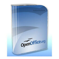 Open OFFICE 2007 PRO Edition Word Processor Compatible With Microsoft Windows