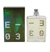 Escentric 03 by Escentric Molecules 3.5 oz EDT Perfume Cologne for Women Men NIB