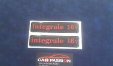 adesivi scritta HF INTEGRALE 16v LANCIA DELTA minigonna sigla sticker logo