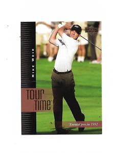 2001 Upper Deck Golf #192 Mike Weir Tour Time
