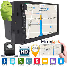 Android Car Stereo GPS Navi MP5 Player Double 2Din WiFi 7