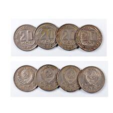 RUSSIA Lotto 20 KOPEKS 1946 + 1948 + 1949 + 1951