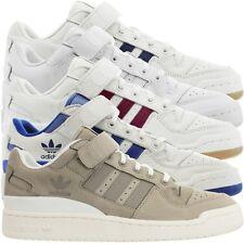 Adidas foro lo señores low-Top sneakers zapatos casual zapatillas de cuero nuevo