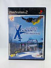 Sony Play Station 2 Spiel PS2 - ESPN Winter X-Games Snowb. - mit OVP - getestet!