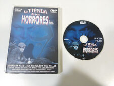 LA TIENDA DE LOS HORRORES ROGER CORMAN JACK NICHOLSON DVD ESPAÑOL ENGLISH &