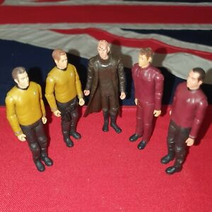 "Star Trek 3.75"" Action Figures JOB LOT BUNDLE Captain James T. Kirk Scotty Wars"