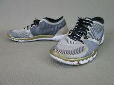 Nike Superbowl 50 Free Trainer 3.0 V4 shoes sneakers 749374-070 mens size 8.5