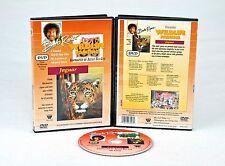 BOB ROSS DVD: WILDLIFE Painting, OIL PAINTING - Jaguar w/ BEA COX, WILDLIFE, MGR