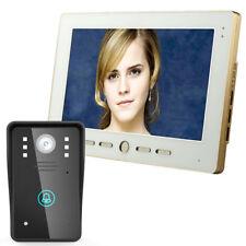 """10""""Video Door Phone Intercom Doorbell Night Vision CCTV Camera Home Surveillance"""