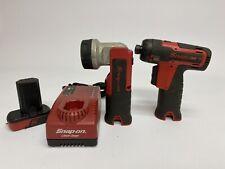 Snap-On 14.4V Hex Microlithium Screwdriver CTS761 & Flashlight CTL761