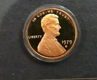 1979 P D S Lincoln Cent  In Mint Cello + PROOF (3 COINS)
