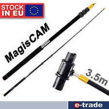 350cm Microphone Lightweight Telescopic Boompole MICROBOOMPOLE