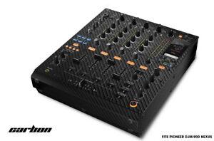 Skin Decal Wrap for PIONEER DJM-900 DJ Mixer CD Pro Audio DJM900 Parts - CARBON