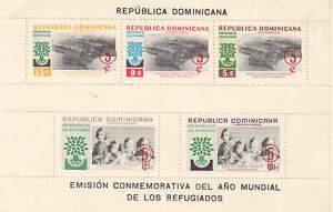 Dominican Republic - 1960 - SC B31-33,CB19-20 - H - 2 Miniature sheets