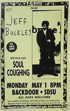 JEFF BUCKLEY / SOUL COUGHING 1994 SAN DIEGO UNIVERSITY CONCERT TOUR POSTER